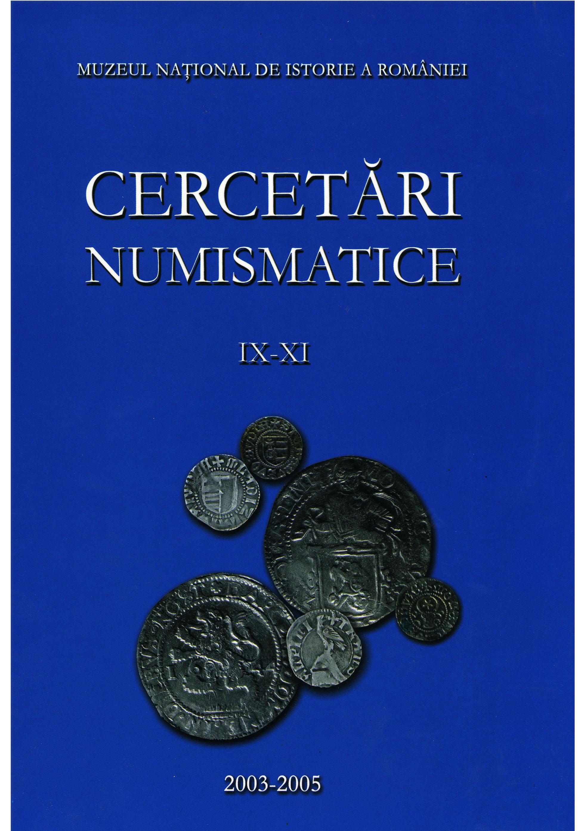 mnir_COP__0070_2003-2005_Cercetari-numismatice-IX-XI_627pag