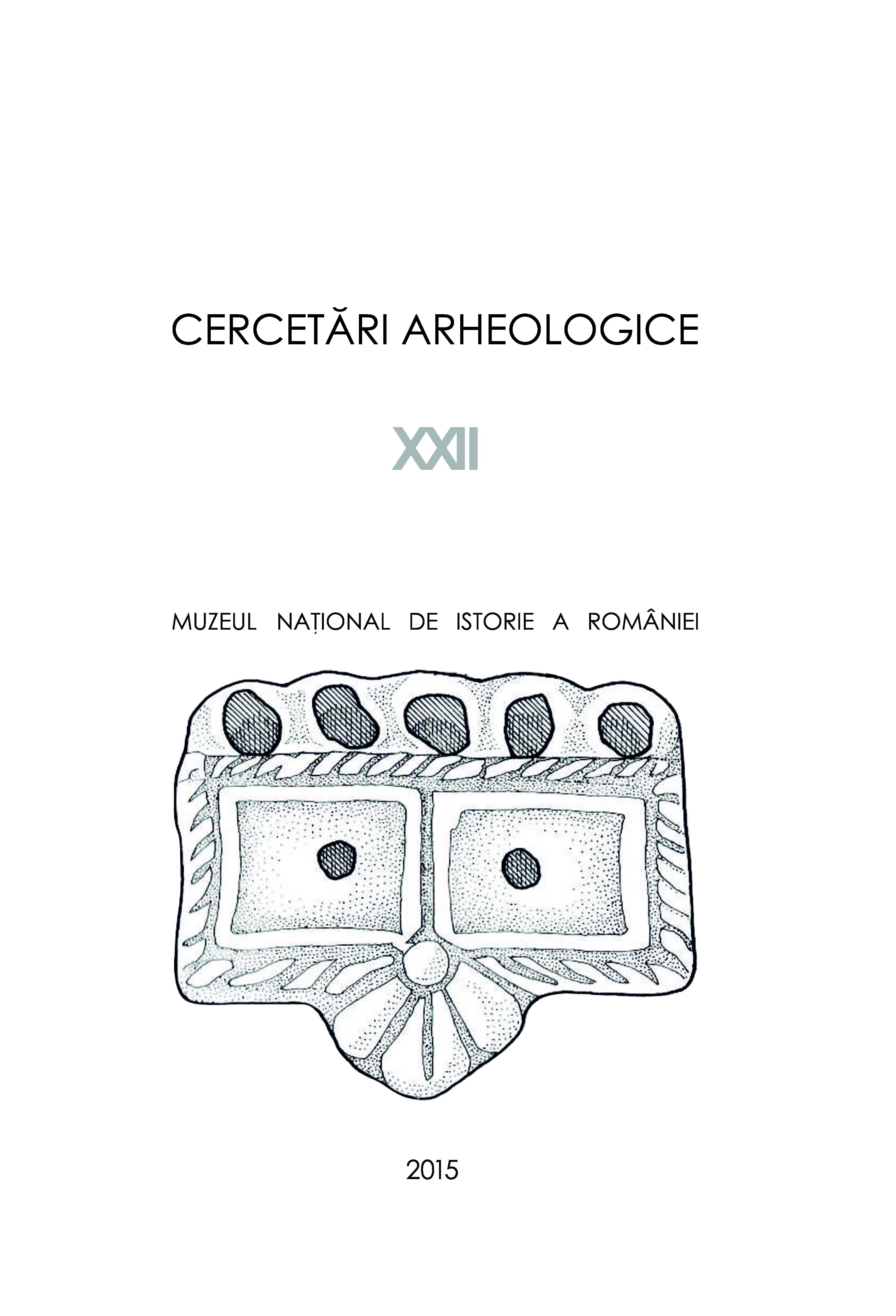 cercetari arheologiceXXII